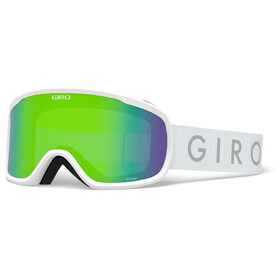 Giro Roam Gafas Hombre, white core/loden green/yellow